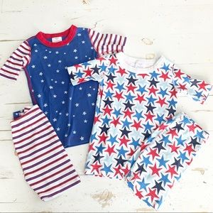 Hanna Andersson Stars and Stripes Pajamas